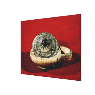 Etruscan perfume holder canvas print