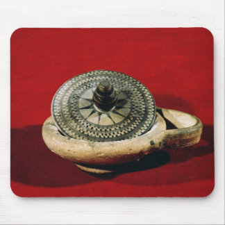 Etruscan perfume holder mouse pad