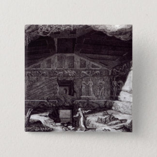 Etruscan Tomb, c.1780 Button
