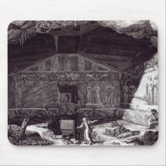 Etruscan Tomb, c.1780 Mouse Pad