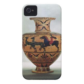 Etrusco-Ionian black-figure hydria depicting a hun iPhone 4 Case-Mate Case