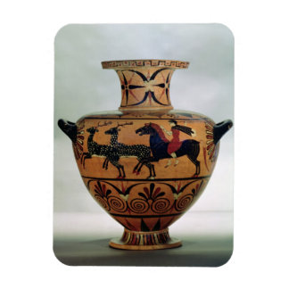 Etrusco-Ionian black-figure hydria depicting a hun Magnet