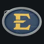 """ETSU Buccaneers Basketball Belt Buckle<br><div class=""""desc"""">Check out these East Tennessee State University designs! Show off your Bucs pride with these new University products. These make the perfect gifts for the ETSU Academy student, alumni, family, friend or fan in your life. All of these Zazzle products are customizable with your name, class year, or club. Go...</div>"""