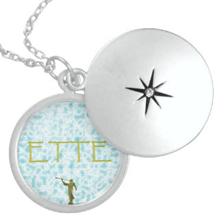 ETTE endure till the end angel moroni Locket Necklace