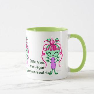 Ettie Vee, the Vegan Extraterrestrial Mug