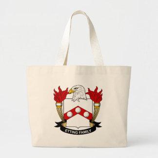 Etting Family Crest Bag