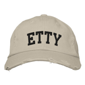 Etty Embroidered Hat Embroidered Hat