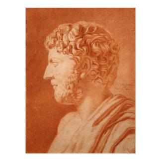 Etude d'apres un Buste Romain by de Mondran Photographic Print
