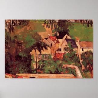 Etude de Paul Cezanne- - Paysage un Auvers Impresiones