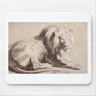 Etude del león de Peter Paul Rubens Mouse Pads