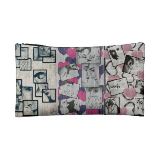 etuis with lovers 2 cosmetic bags
