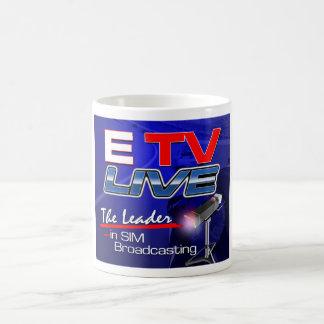 ETV Coffee Cup Classic White Coffee Mug