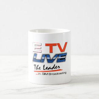 ETV Live Logo Drinkware Classic White Coffee Mug