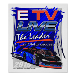 ETV Live The Leader in Sim Broadcasting Poster