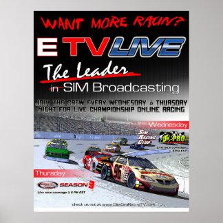 ETV viven poster de Racin