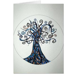 Etz Avir (Tree of Air) Greeting Cards