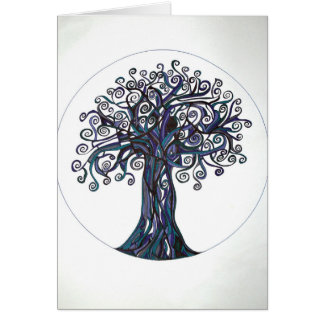 Etz Mayim (Tree of Water) Greeting Cards