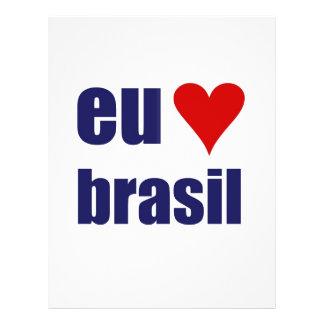 eu amo brasil flyer