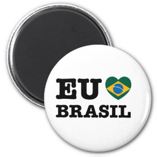 Eu Amo Brasil Magnet