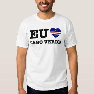 Eu Amo Cabo Verde Tee Shirt