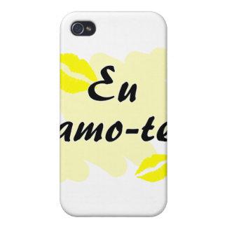 Eu amo-te - Portuguese I love you iPhone 4 Case