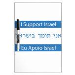Eu Apoio Israel, I Support Israel Dry-Erase Board