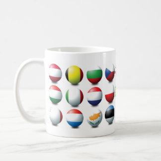EU Balls Basic White Mug