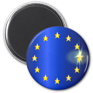 EU Bright Flag Magnet