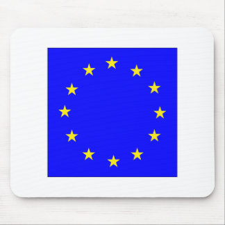 EU European flag Mouse Pad