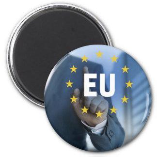 EU European Union touchscreen concept 2 Inch Round Magnet