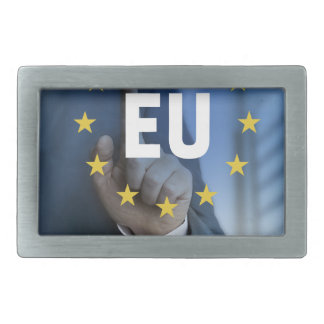 EU European Union touchscreen concept Belt Buckle