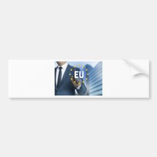 EU European Union touchscreen concept Bumper Sticker