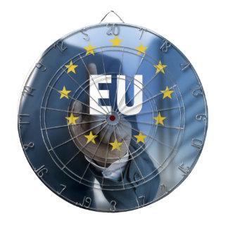 EU European Union touchscreen concept Dart Board