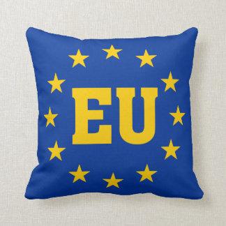 EU Flag, European Union Throw Pillow