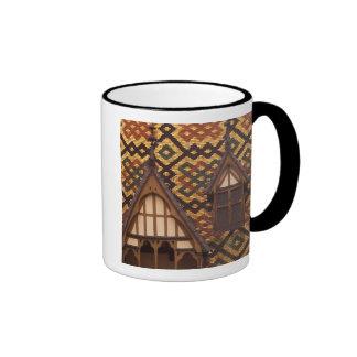 EU France Burgundy Cote d Or Beaune Tiled Mug