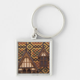 EU, France, Burgundy, Cote d'Or, Beaune. Tiled Keychain