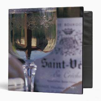 EU, France, Chablis, Local wine 3 Ring Binders