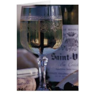 EU, France, Chablis, Local wine Card