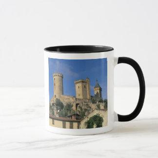 EU, France, Foix, Ariege, Pyrenees. Chateau Mug