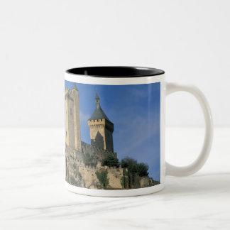 EU, France, Foix, Ariege, Pyrenees. Chateau Two-Tone Coffee Mug