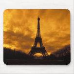EU, France, Paris.  Eiffel Tower. Mousepads