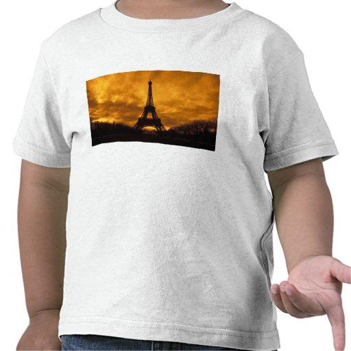 EU, France, Paris.  Eiffel Tower. T Shirts