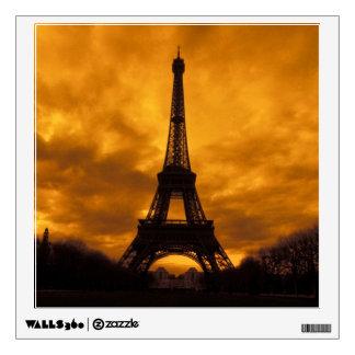 EU, France, Paris.  Eiffel Tower. Wall Sticker
