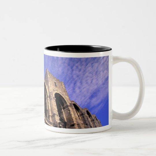 EU, France, Provence, Bouches, du, Rhone, 5 Two-Tone Coffee Mug