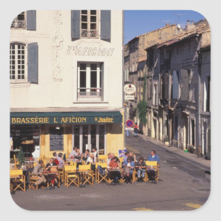 EU, France, Provence, Bouches-du-Rhone, Arles. Square Sticker