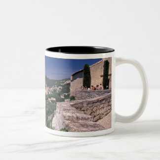 EU, France, Provence, Bouches, du, Rhone, Les 2 Two-Tone Coffee Mug