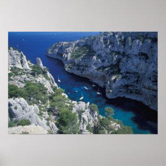 EU, France, Provence, French Riviera Coast, 2 Poster