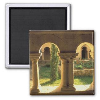 EU, France, Provence, Ganagobie Abbey, 2 Inch Square Magnet