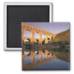 EU, France, Provence, Gard, Pont du Gard. 2 Fridge Magnets
