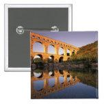 EU, France, Provence, Gard, Pont du Gard. 2 Pinback Button